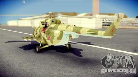 Mi-8 Hip для GTA San Andreas вид слева