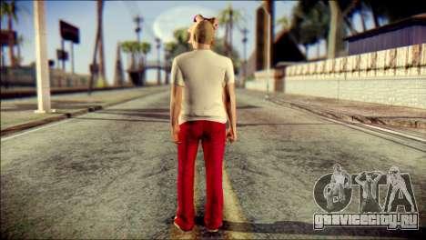 Skin Kawaiis GTA V Online v3 для GTA San Andreas второй скриншот