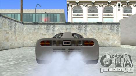 1992 McLaren F1 Clinic Model Custom Tunable v1.0 для GTA San Andreas вид сзади слева
