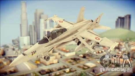 F-18D Swiss Air Force для GTA San Andreas