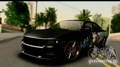 Dodge Charger RT 2015 Sword Art для GTA San Andreas