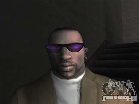 Новые очки для CJ для GTA San Andreas четвёртый скриншот
