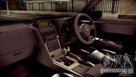 Nissan Skyline GTR V Spec II v2 для GTA San Andreas вид справа