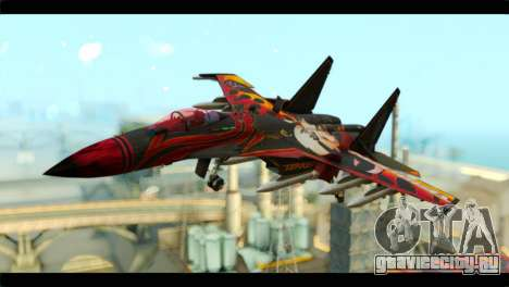 SU-35 Flanker-E Tekken для GTA San Andreas