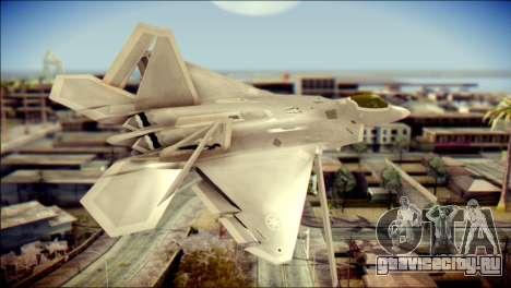 F-22 Gryphus, Falco and Antares для GTA San Andreas вид слева