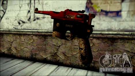 Mauser M1896 Royal Dragon CF для GTA San Andreas второй скриншот