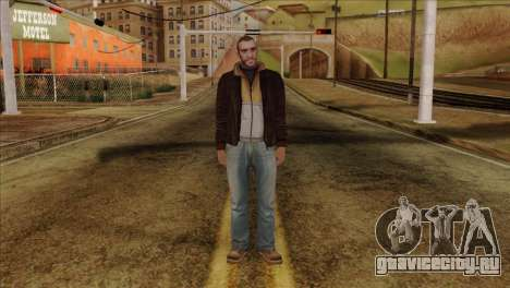 Niko from GTA 5 для GTA San Andreas