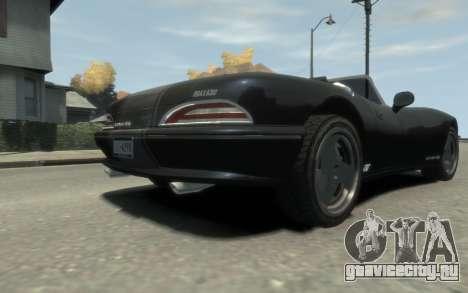 GTA 3 Bravado Banshee HD для GTA 4 вид изнутри