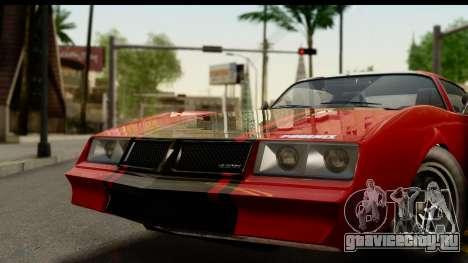 GTA 5 Imponte Phoenix для GTA San Andreas вид сзади слева