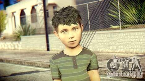 Dante Brother Child Skin для GTA San Andreas третий скриншот