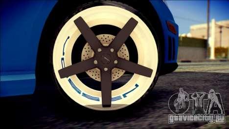 Mercedes-Benz AMG для GTA San Andreas вид сзади слева