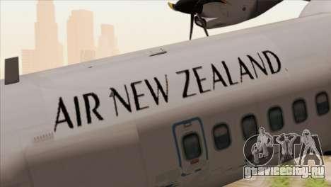 ATR 72-500 Air New Zealand для GTA San Andreas вид сзади