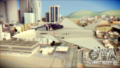 EuroFighter Typhoon 2000 Luftwaffe для GTA San Andreas