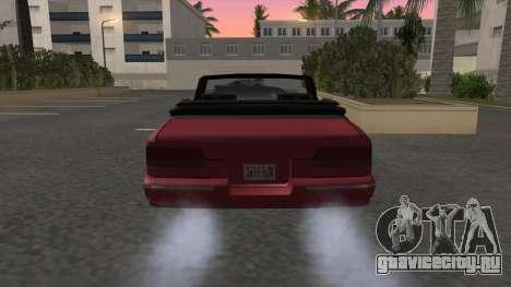 Premier Cabrio для GTA San Andreas вид сзади слева