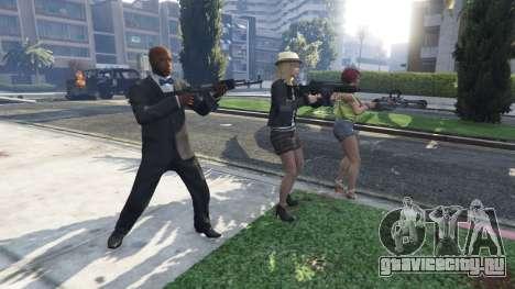 Bodyguard Menu v1.5 для GTA 5 второй скриншот