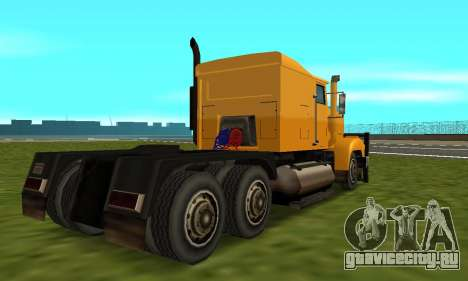 PS2 RoadTrain для GTA San Andreas вид справа