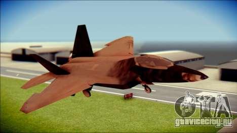 F-22 Raptor G1 Starscream для GTA San Andreas
