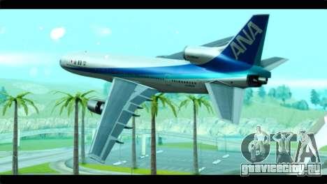 Lookheed L-1011 ANA для GTA San Andreas вид слева