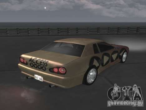 Elegy Paintjobs для GTA San Andreas вид слева