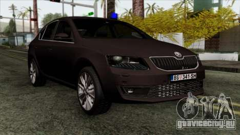Skoda Octavia Police для GTA San Andreas