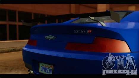 MP3 Dewbauchee XSL650R IVF для GTA San Andreas вид сзади
