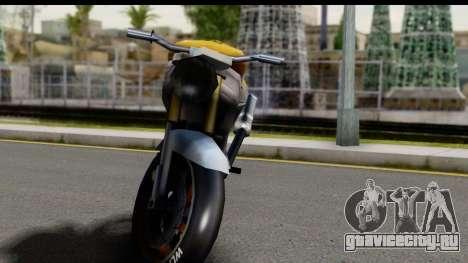 NRG Streetfighter для GTA San Andreas вид сзади