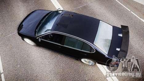 Emperor Lokus LS 350 Race GT для GTA 4 вид справа