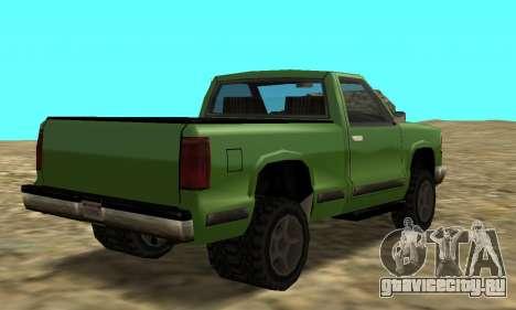 PS2 Yosemite для GTA San Andreas вид слева