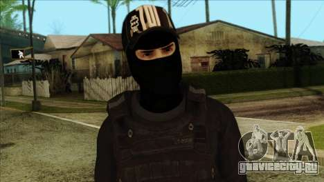 Sicario Skin v10 для GTA San Andreas третий скриншот
