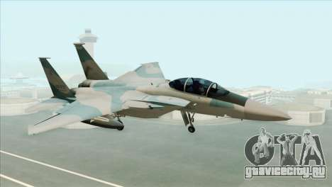 McDonnell Douglas F-15D Philippine Air Force для GTA San Andreas