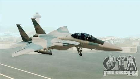 McDonnell Douglas F-15D Philippine Air Force для GTA San Andreas