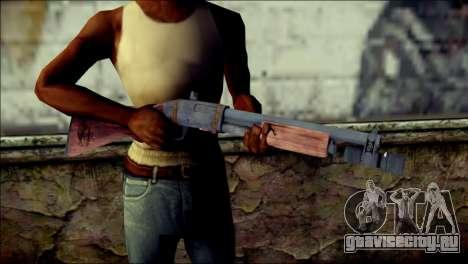 Rumble 6 Chromegun для GTA San Andreas третий скриншот