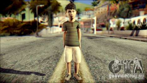 Dante Brother Child Skin для GTA San Andreas