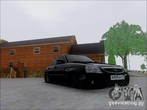 Lada Priora Hatchback для GTA San Andreas