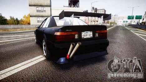 Maibatsu Vincent 16V Drift для GTA 4 вид сзади слева