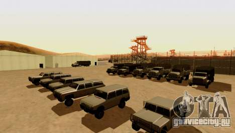 DLC 3.0 Военное обновление для GTA San Andreas пятый скриншот