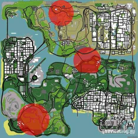 DLC 3.0 Военное обновление для GTA San Andreas третий скриншот