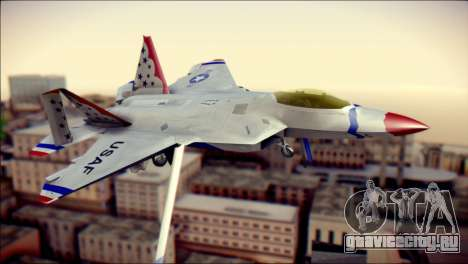 F-22 Raptor Thunderbirds для GTA San Andreas