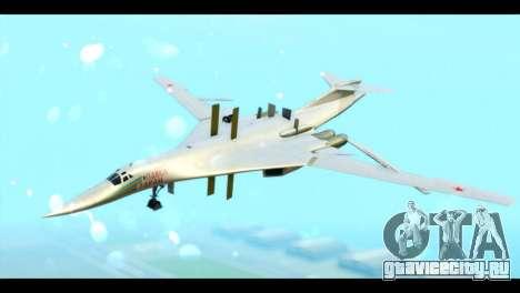 TU-160 Blackjack для GTA San Andreas