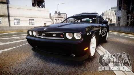 Dodge Challenger SRT8 Police [ELS] для GTA 4