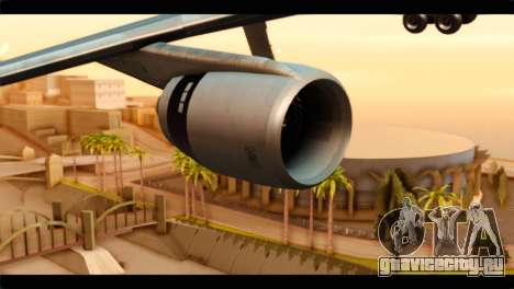 Lookheed L-1011 Air Canada для GTA San Andreas вид справа