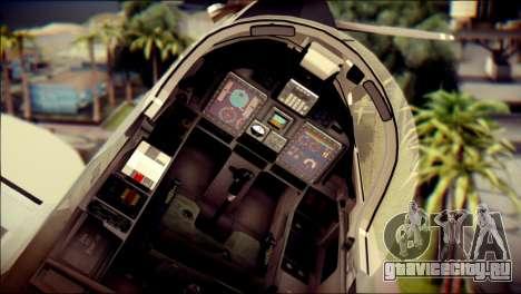 EMB 314 Super Tucano Colombian Air Force для GTA San Andreas вид справа