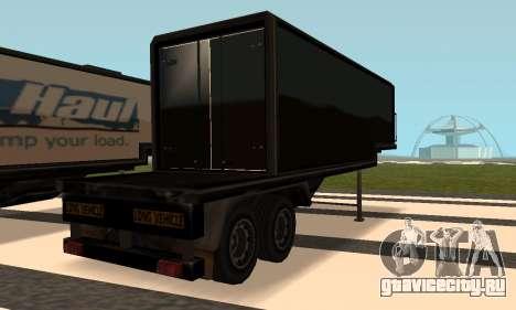 PS2 Article Trailer 3 для GTA San Andreas вид сзади слева
