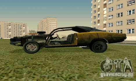 Dodge Charger RT HL2 EP2 для GTA San Andreas вид сзади слева