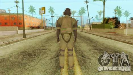 Metal Gear Solid 5: Ground Zeroes MSF v1 для GTA San Andreas второй скриншот