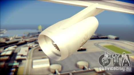 Airbus A340-300 Emirates для GTA San Andreas вид справа