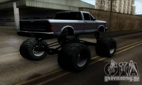Monster Bobcat для GTA San Andreas вид слева