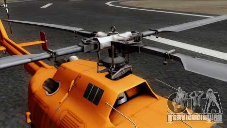 MBB BO-105 Basarnas для GTA San Andreas вид сзади