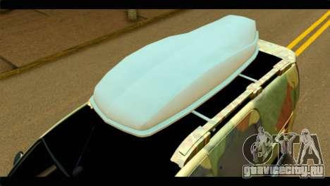 Mercedes-Benz Citan Stance для GTA San Andreas вид справа