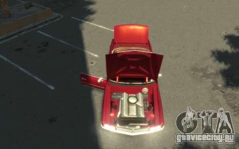GTA 3 Yardie Lobo HD для GTA 4 вид сзади